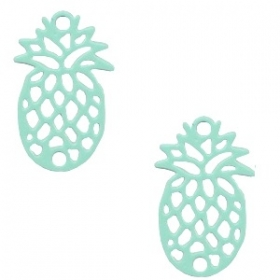 Bedel ananas mint green
