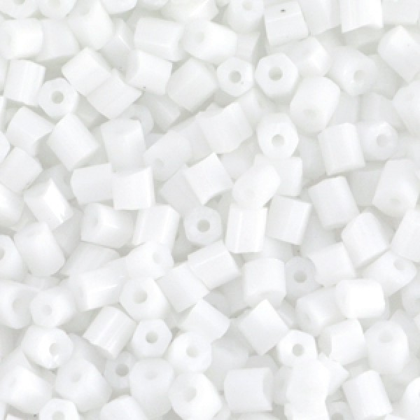 Buggles 4mm White 20 gram