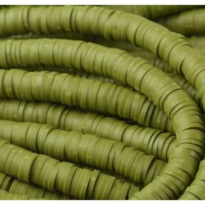 Katsuki 6mm olijf groen 50 stuks