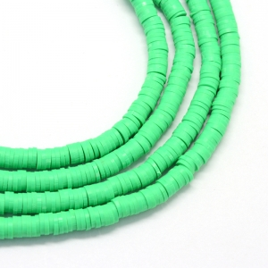 Katsuki 6mm spring green, volle string ca. 380 stuks
