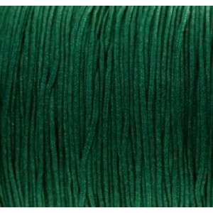 Macramé draad 0.8mm Atlantic deep green, per meter