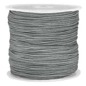 Macramé draad 0.8mm slate grey, 5 meter