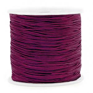 Macramé draad 0.8mm aubergine purple, 5 meter