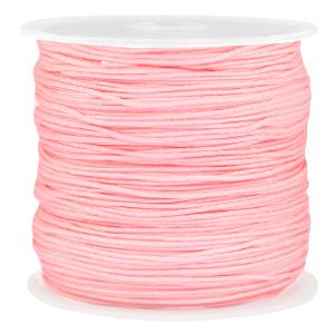 Macramé draad 0.8mm pink, 5 meter