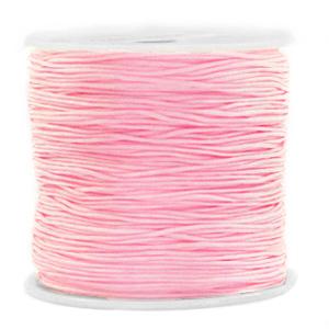 Macramé draad 0.8mm light pink, 5 meter