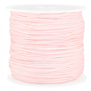Macramé draad 0.8mm baby pink, 5 meter
