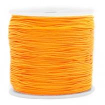 Macramé draad 0.8mm tropical orange, 5 meter