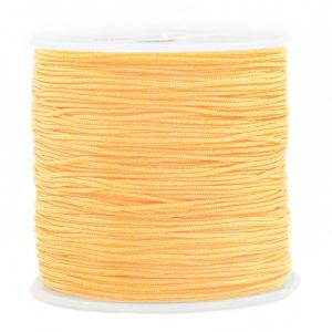 Macramé draad 0.8mm soft orange, 5 meter