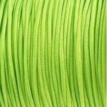 Macramé draad 0.8mm Neon groen, per meter
