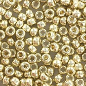 Miyuki rocailles 8/0 3mm Duracoat galvanized silver 8-4201, 5 gram