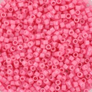 Miyuki delica's 11/0 - opaque pink - 600 stuks