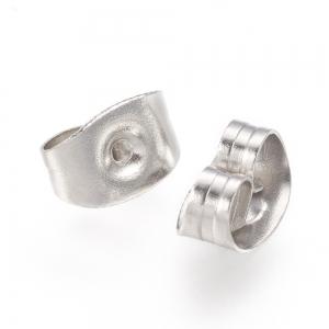 RVS stopper voor pin 0.7mm, per paar