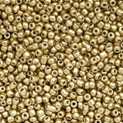 Rocailles 2mm Gold 20 gram