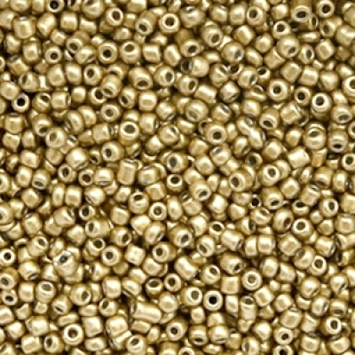 Rocailles 2mm gold 10 gram