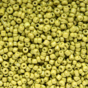 Rocailles 2mm spinach green, 10 gram