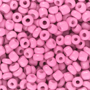 Rocailles 3mm taffy pink, 15 gram