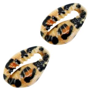 Kauri leopard brown, per stuk