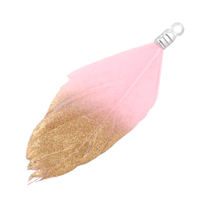 Veertje gold light pink