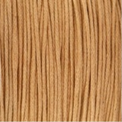 Waxkoord 1mm Camel brown, per meter