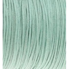 Waxkoord 1mm mintgroen, per meter