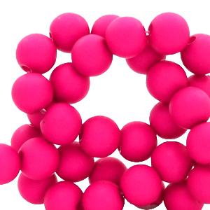 Acryl kralen 4mm pink blast, 5 gram