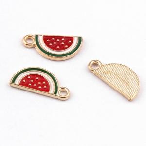Emaille bedel watermeloen, per stuk