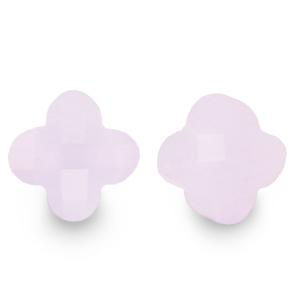 Fashion facet klaver pastel lilac