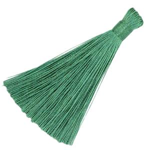 Kwastje 8cm green ash