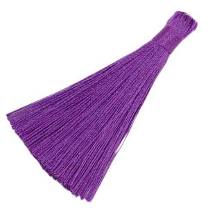 Kwastje 8cm tillandsia purple