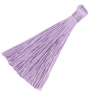 Kwastje 8cm lilac purple
