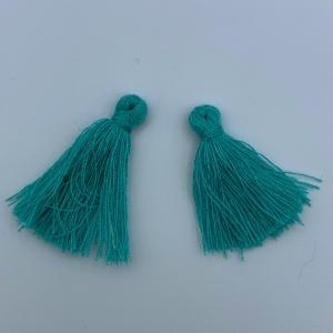 Kwastje turquoise 30mm