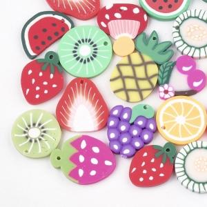 Polymeer bedel fruit, 5 stuks