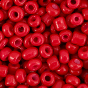 Rocailles 4mm burgundy red, 20 gram
