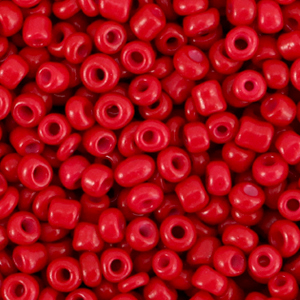 Rocailles 3mm burgundy red, 15 gram