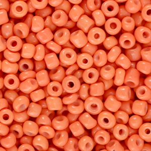 Rocailles 3mm cantaloupe pink, 15 gram