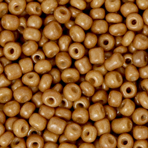 Rocailles 3mm sierra brown, 15 gram