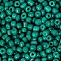 Rocailles 3mm north sea green, 15 gram