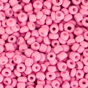 Rocailles 3mm punch pink, 15 gram