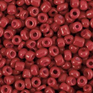 Rocailles 3mm cabernet red, 15 gram