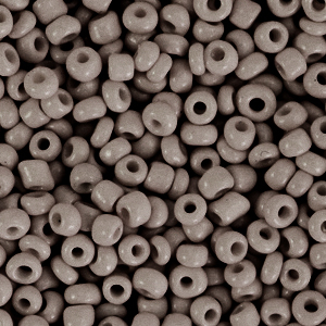 Rocailles 3mm woodland grey, 15 gram