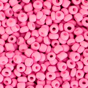 Rocailles 3mm deep pink, 15 gram