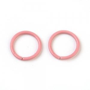 Buigring 10mm dark pink, 4 stuks