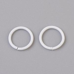 Buigring 10mm white, 4 stuks