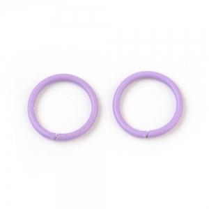 Buigring 10mm purple, 4 stuks