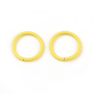 Buigring 10mm yellow, 4 stuks