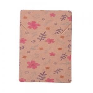 Sieradenkaartjes flower, 5 stuks