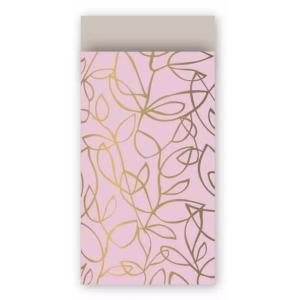 Papieren cadeauzakjes fine kleurs 7x13cm, 5 stuks