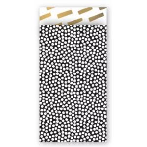 Papieren cadeauzakjes cozy cubes 7x13cm, 5 stuks