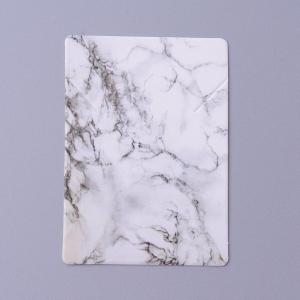 Sieradenkaartje marble, 5 stuks