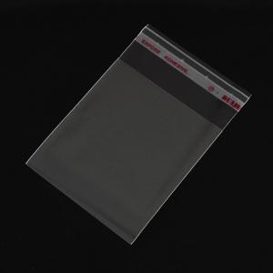 Zakjes met plakstrip 8x6cm, ca 200 stuks